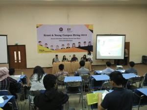 Indonesia) Ernst & Young Selenggarakan Campus Hiring di JA